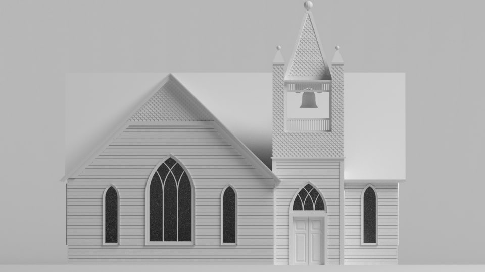 church 3d 3ds