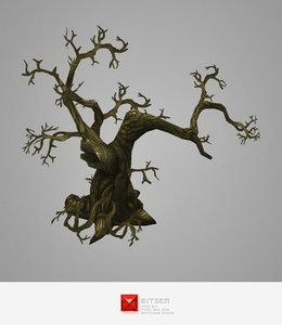 3d dead tree pack model