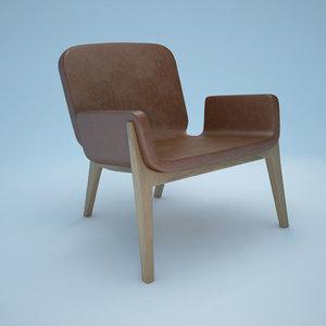 3d jockey chair