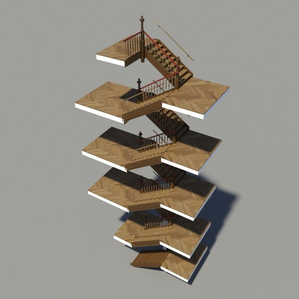 historical staircase stair max