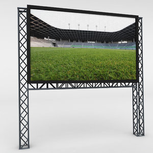 led scaffolding obj