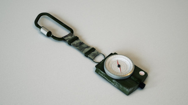 3d militar compass