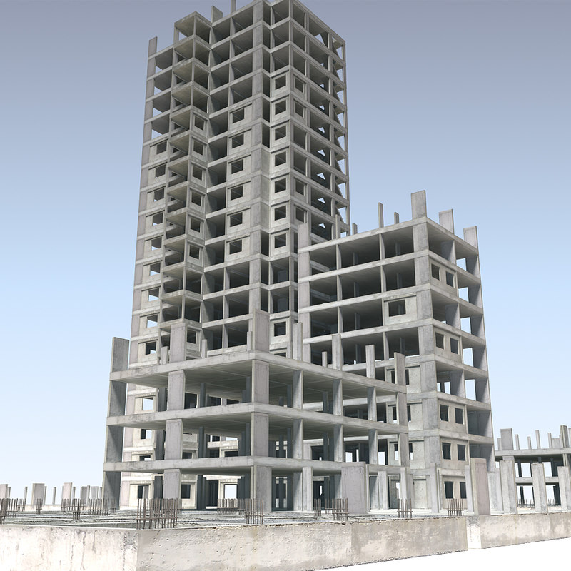 Building Construction 3d Model