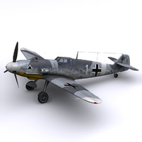 Bf-109 F4 JG53 - Sicily 1942