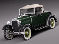 Ford Model A Roadster 1929-1931