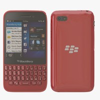 blackberry q5 red