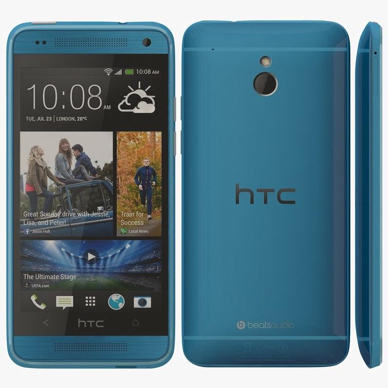 htc mini blue 3d dwg