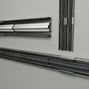 3d model of cable tray wiring futuristic