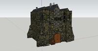 3d medieval model