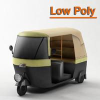 3ds max tuktuk tuk