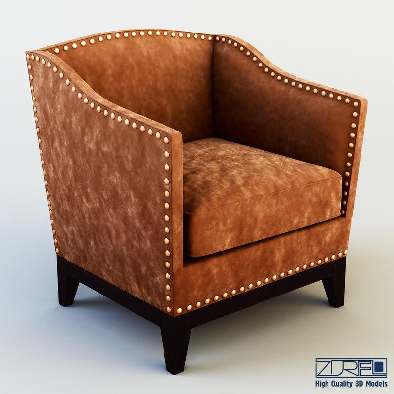tacha chair 3d obj