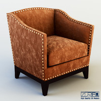 tacha chair 3d obj