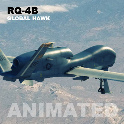 uav rq-4b global hawk max