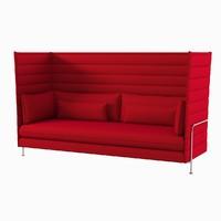 3d alcove sofa vitra model