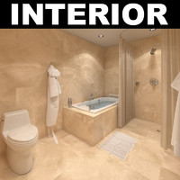 bathroom ies lights 3d max
