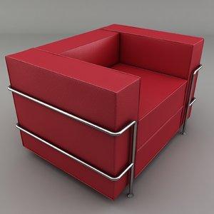 3d chair sofa