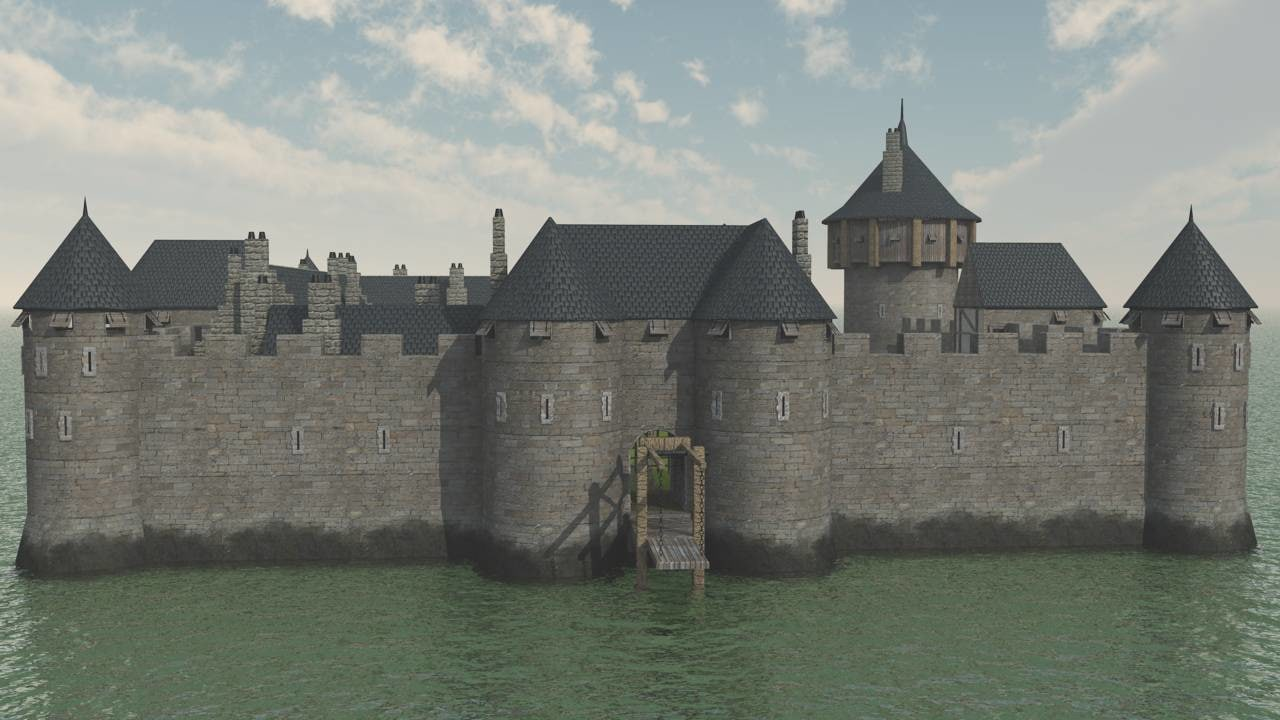lightwave castle dourdan
