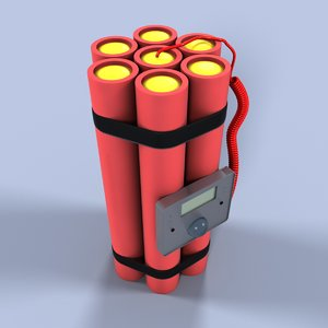 dynamite 3d max