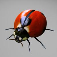 ladybug 3d model