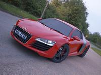 Audi R8 realistic