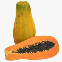 3d papaya