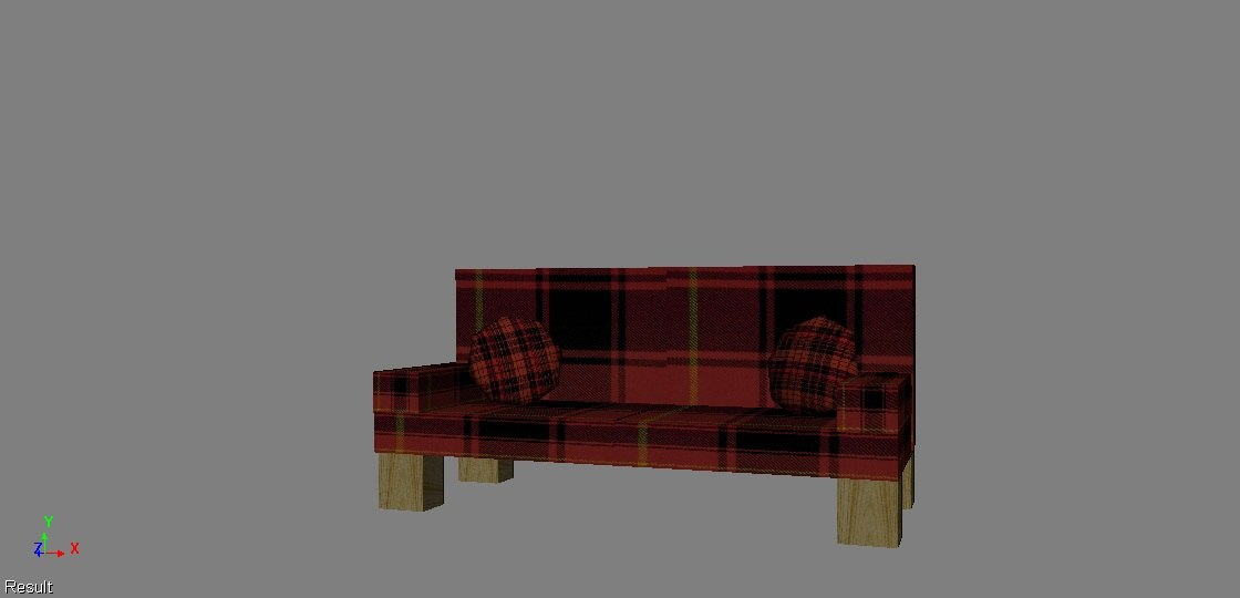 3ds sofa living room