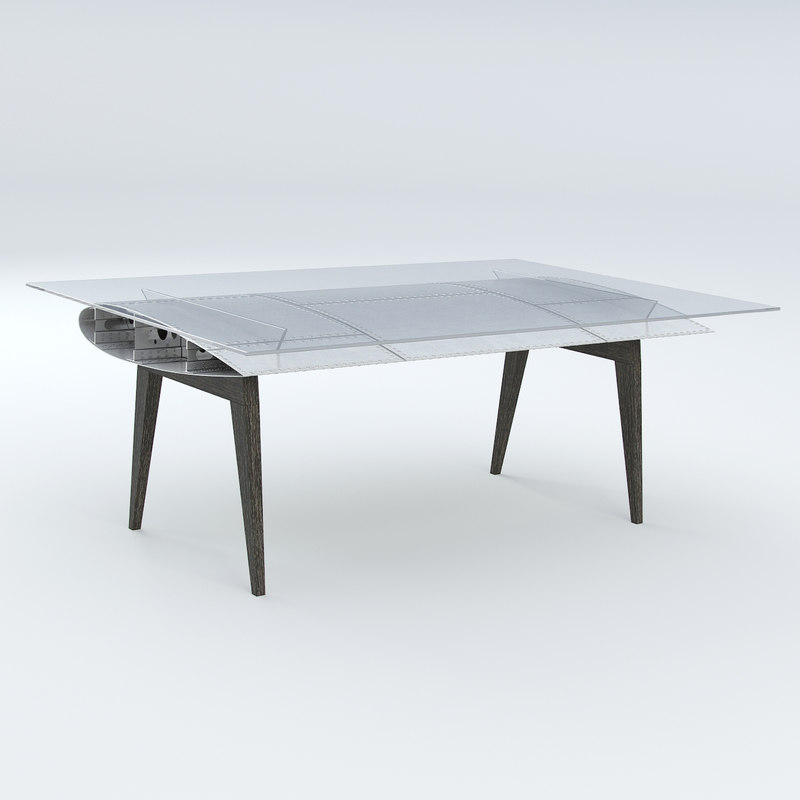 table wing 3d model