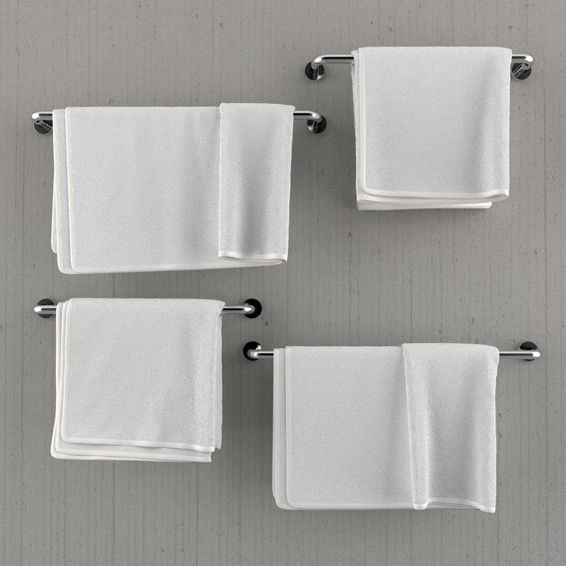 obj hanging towels