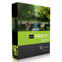3d cgaxis volume 34 trees model