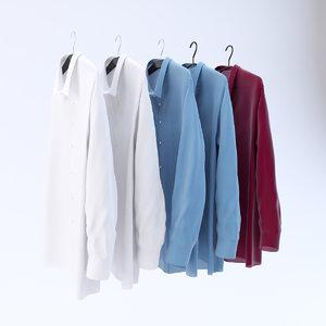 shirts hangers 3d 3ds