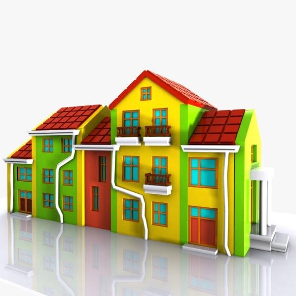 3d car house