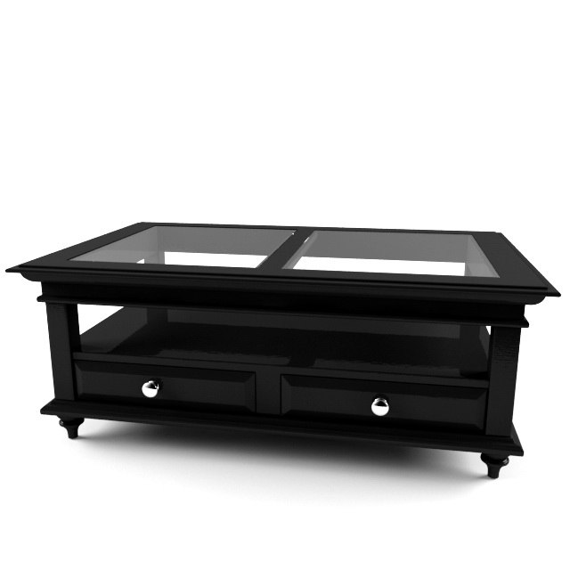 3d model panama cocktail table