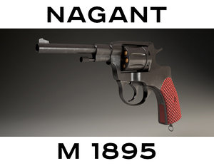 c4d revolver nagant