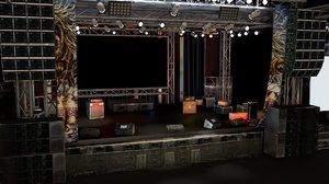 cinema4d concert stage