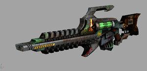 gauss rifle max
