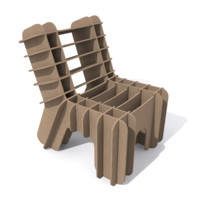 Eco-Friendly Cardboard Chair
