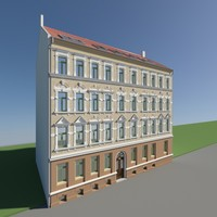 fbx historical building facades
