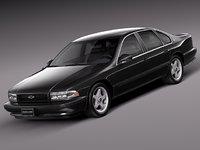 3d v8 sedan luxury 1994 model