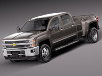 Chevrolet Silverado HD 2015 Long