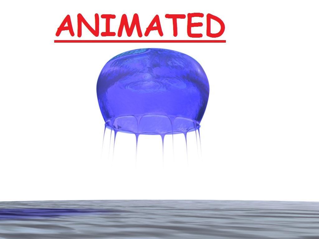 jellyfish 3d c4d