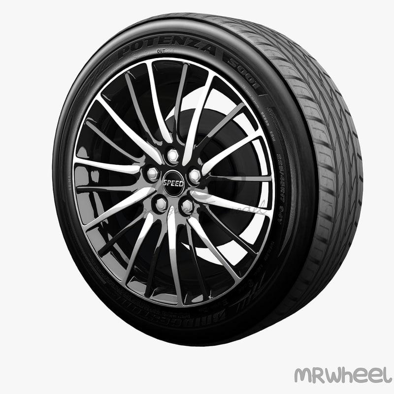 3dsmax wheel mrwheel