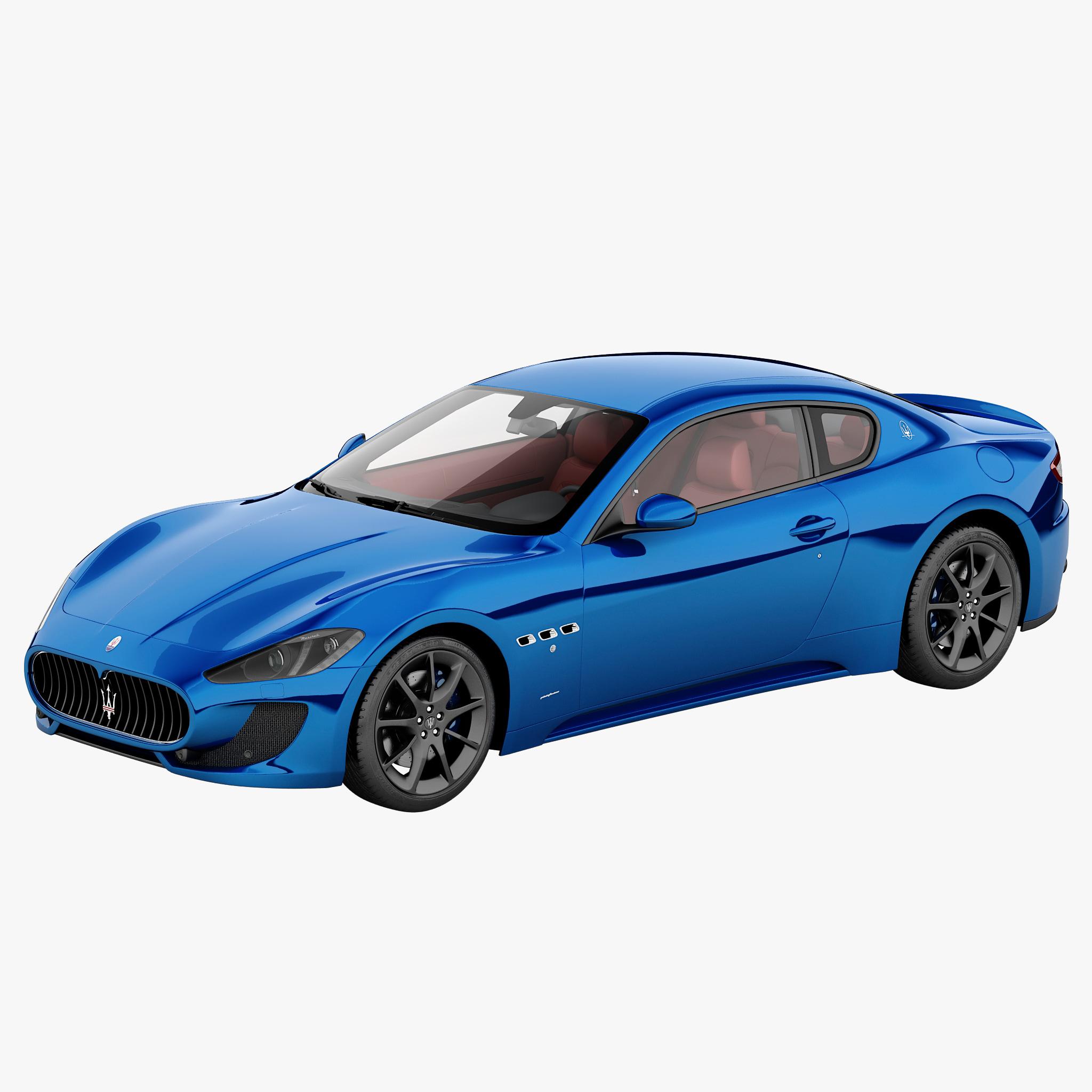 3d model maserati granturismo mc 2013
