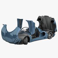 Car Minotaur Mk2 Rigged