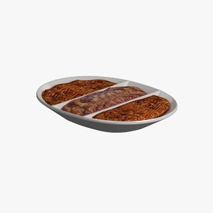 dish meat model