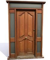 3dsmax photo realistic door