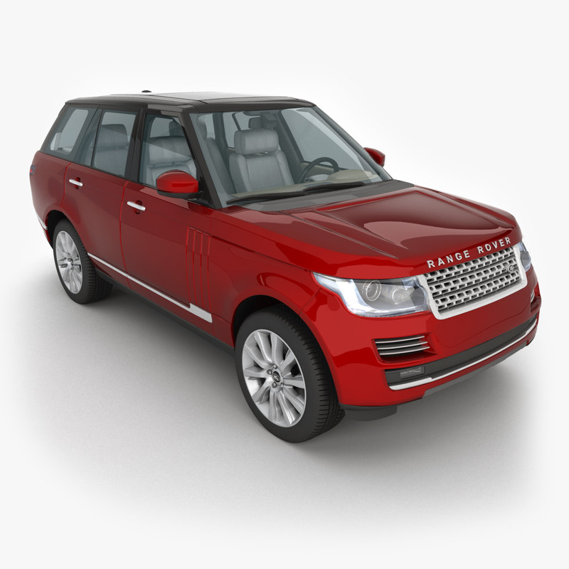 3ds max 2013 land rover range
