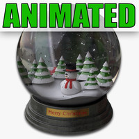 Snowglobe (Animated)