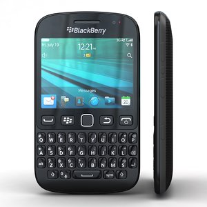 blackberry 9720 samoa black 3d model
