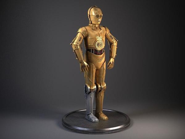 3ds star wars c3po droid