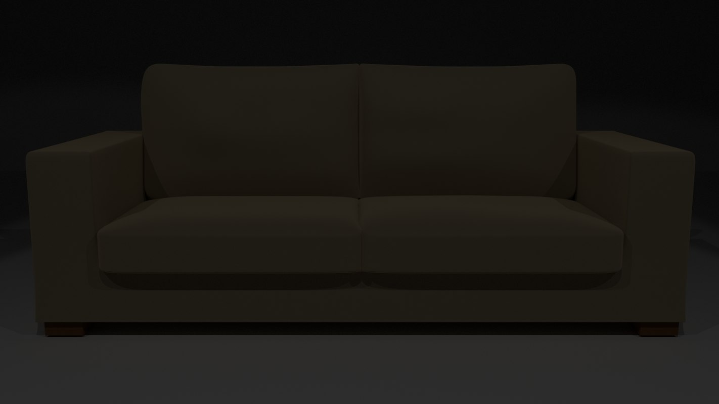 3d model couch